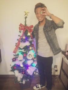 クリスマス仕様に(^^♪