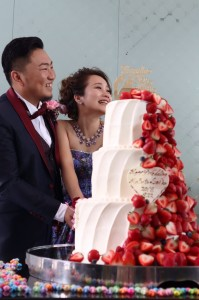 結婚式(^^)/
